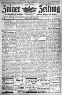 Zniner Zeitung 1918.02.02 R. 31 nr 10