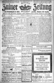 Zniner Zeitung 1918.02.27 R. 31 nr 17