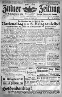 Zniner Zeitung 1918.04.13 R. 31 nr 30