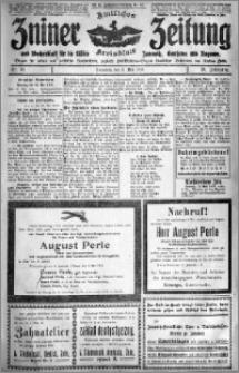 Zniner Zeitung 1918.05.11 R. 31 nr 38