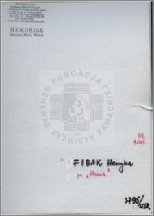 Fibak Henryka