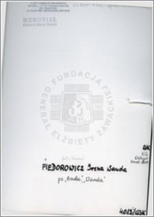 Fiedorowicz Irena Wanda