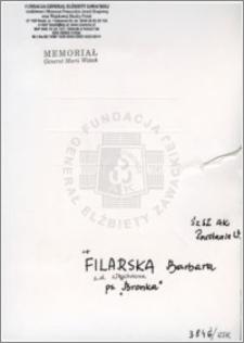 Filarska Barbara