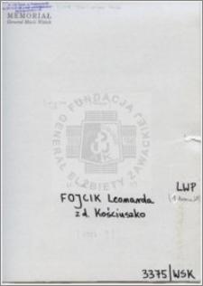 Fojcik Leonarda