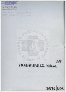 Frankiewicz Helena