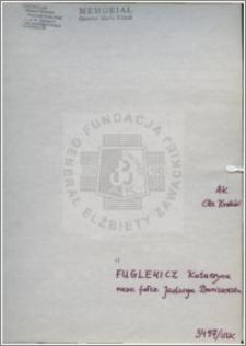 Fuglewicz Katarzyna