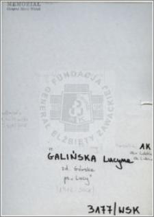 Galińska Leokadia