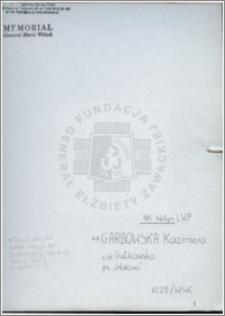 Garbowska Kzimiera