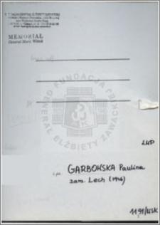 Garbowska Paulina