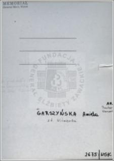 Garszyńska Aniela