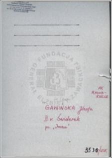 Gawińska Józefa