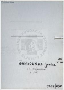 Gawłowska Janina