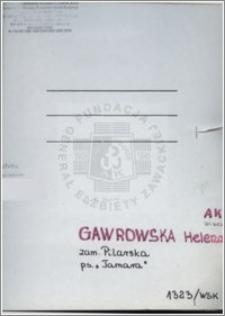 Gawrowska Helena