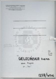 Gielecińska Irena