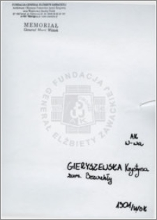 Gieryszewska Krystyna