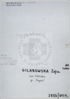 Gilarowska Zofia