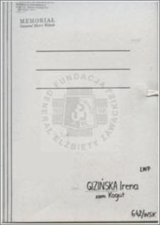 Gizińska Irena