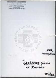 Głażewska Joanna