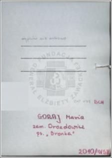 Goraj Maria