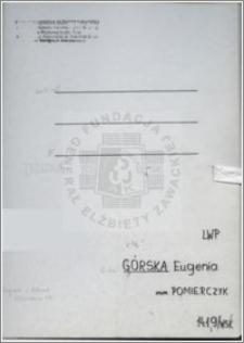 Górska Eugenia