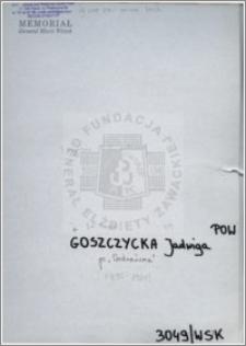 Goszczycka Jadwiga