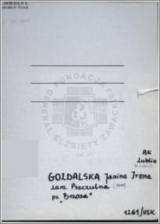 Gozdalska Janina Irena