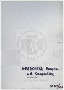 Grabowska Bogna