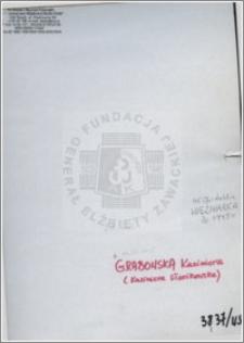 Grabowska Kazimiera