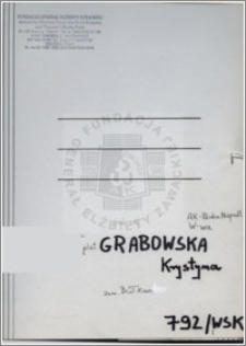 Grabowska Krystyna
