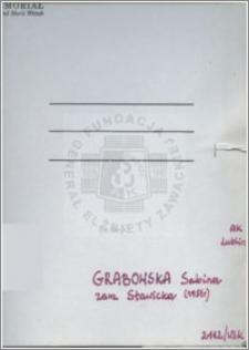 Grabowska Sabina