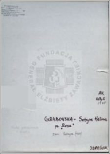 Grabowska-Sobyra Halina
