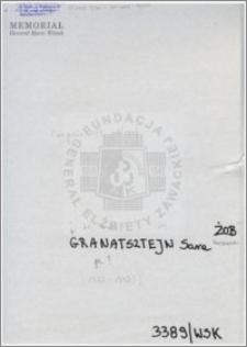 Granatsztejn Sara