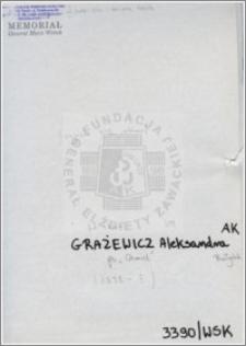 Grażewicz Aleksandra