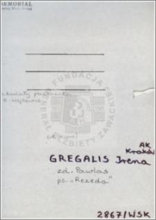Gregalis Irena