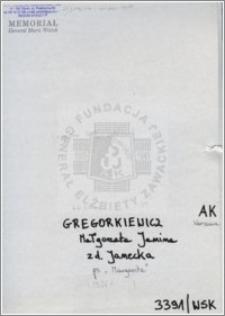Gregorkiewicz Małgorzata