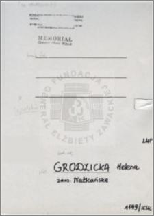 Grodzicka Helena