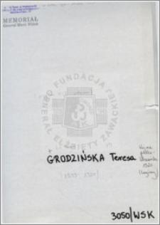 Grodzińska Teresa