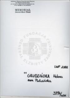 Grudzińska Helena