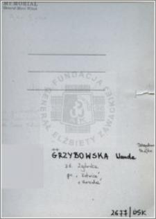 Grzybowska Wanda