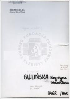 Gulińska Krystyna Stanisława