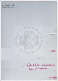 Guzek Leoakadia