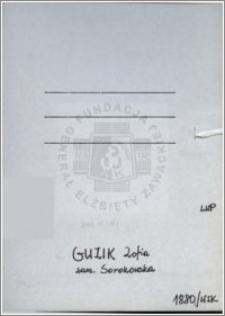 Guzik Zofia