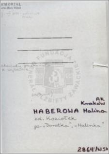 Haberowa Halina