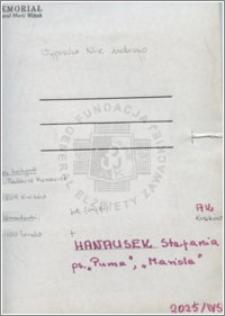 Hanausek Stefania