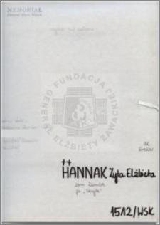Hannak Zyta Elżbieta