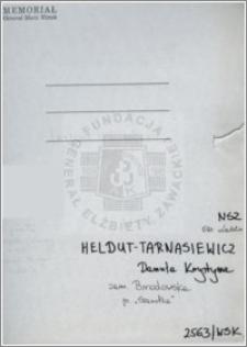 Heldut-Tarnasiewicz Danuta Krystyna