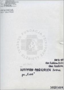 Hoffman-Marszałek Irena