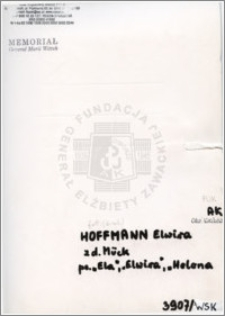 Hoffman Elwira