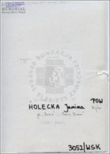Holecka Janina
