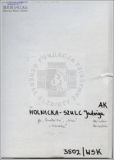 Holnicka-Szulc Jadwiga